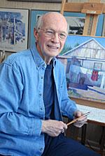 Richard in his studio