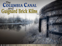 The Columbia Canal and Guignard Brick Kilns