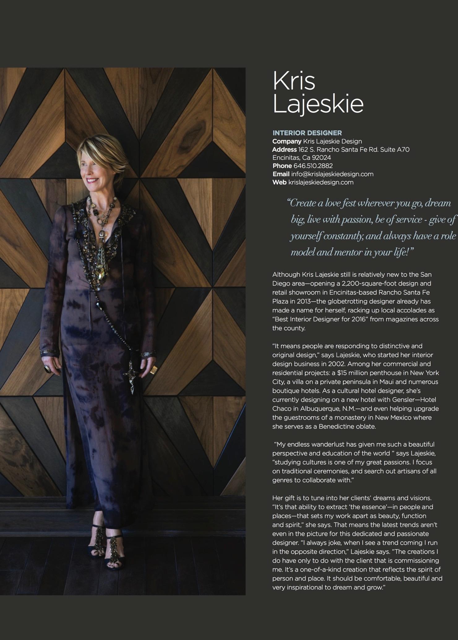 Kris Lajeskie Contact