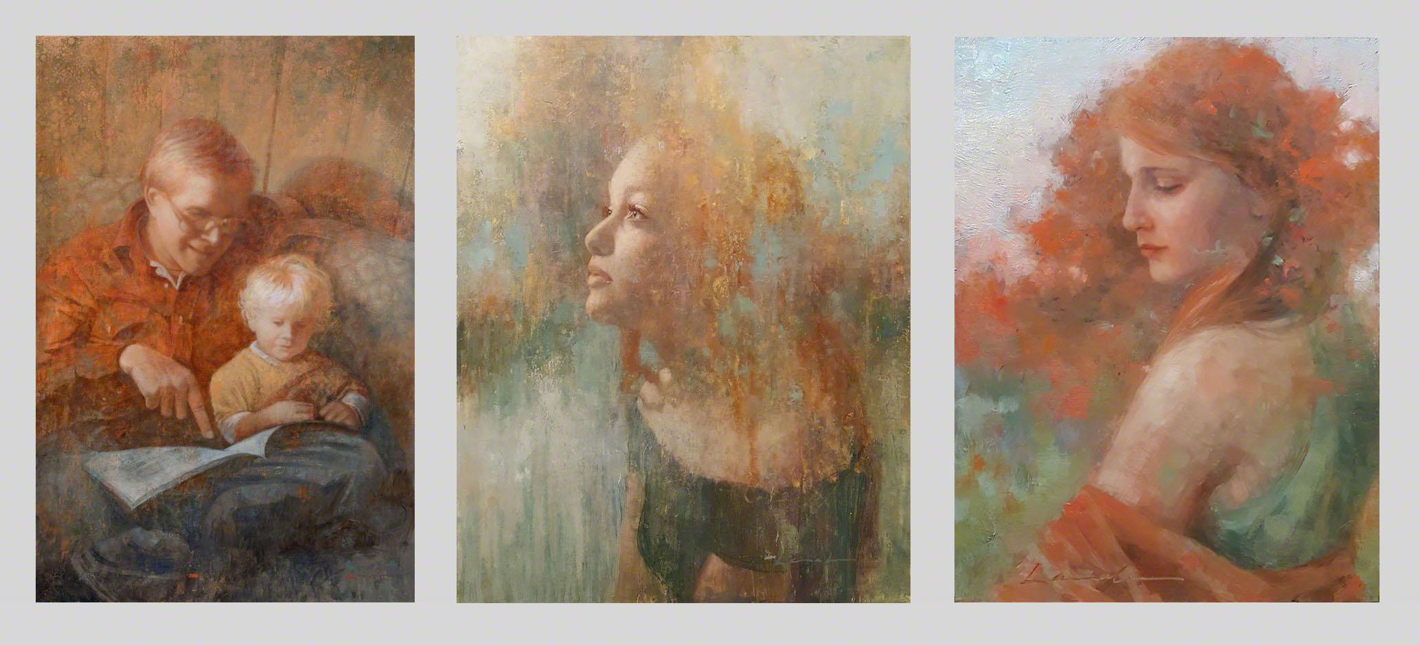 Figurative portraits -artist Lisa Larrabee